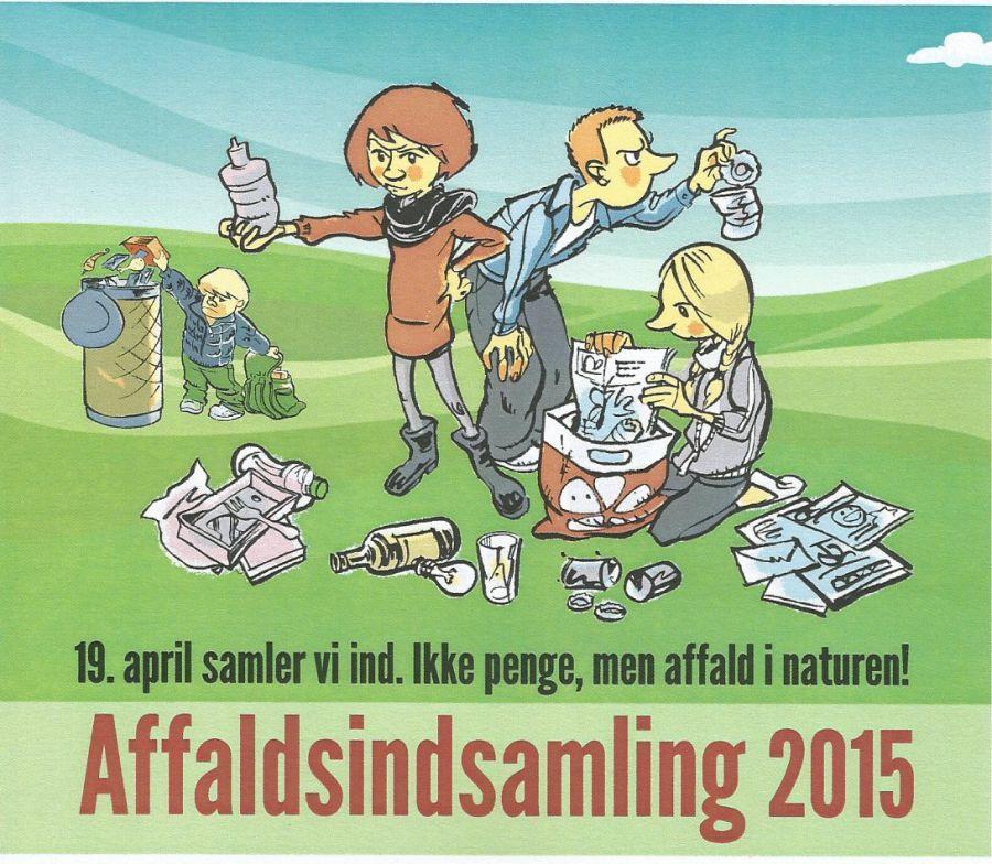 Landsdækkende affaldsindsamling søndag d. 17. april
